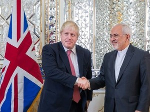 Boris Johnson dan Zarif