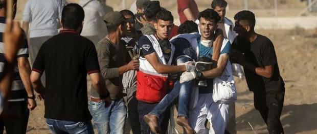 Israel Tembak Warga Palestina