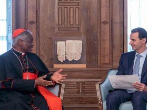 Bashar Assad Bertemu Delegasi Vatikan