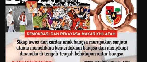 Bela NKRI dari Ideologi Khilafah