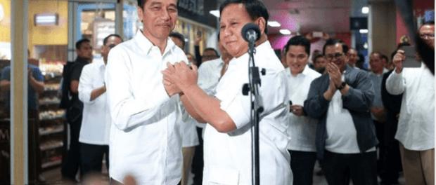 Jokowi dan Prabowo Subianto