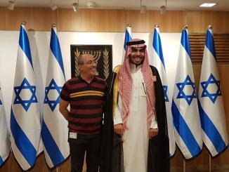 Kunjungan Jurnalis Saudi ke Israel