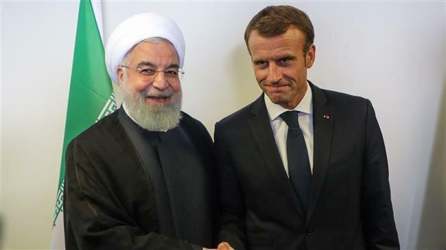 Rouhani dan Macron