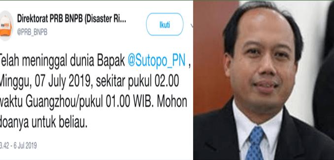 Sutopo Purwo Nugroho
