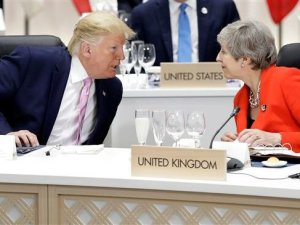 Trump dan Theresa May