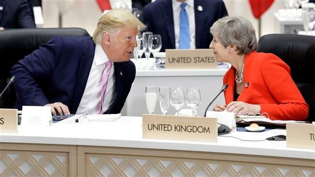 Trump dan Theresa May