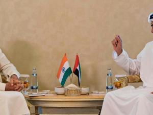 PM India dan Penguasa Abu Dhabi