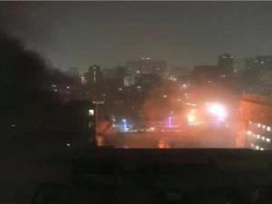 Ledakan di Isntitut Mesir