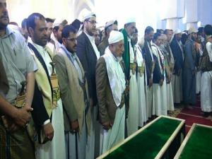 Shalata jenazah adik kandung Houthi yang dibunuh Saudi