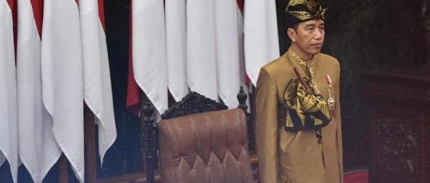 Jokowi di Sidang DPD-DPR