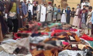 Korban Serangan Biadab Saudi di Yaman