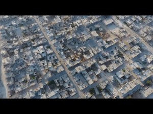 Peta Kota Strategis Khan Sheikoun di Suriah