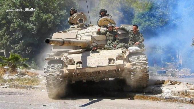 Tank Tentara Arab Suriah