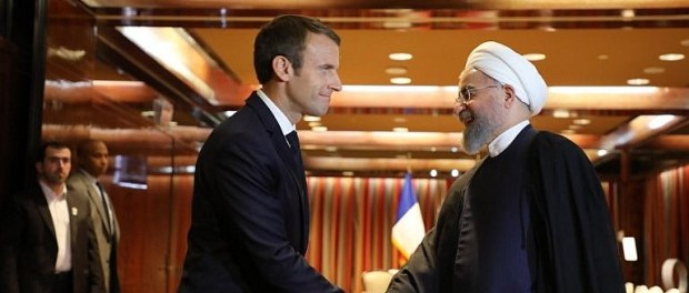 Macron dan Rouhani