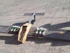 Drone Ditembak