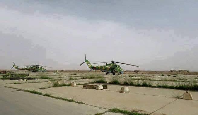 Helikopter Suriah