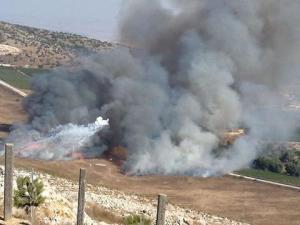 Serangan balasan Hizbullah ke Israel