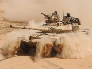 Serangan SAA di Palmyra