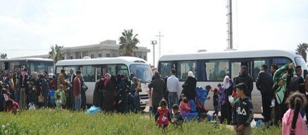 Warga Suriah pulang kampung