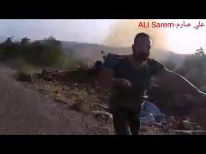 Tentara Suriah di timur laut Latakia