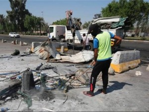 Kerusuhan Irak, Irak, Baghdad