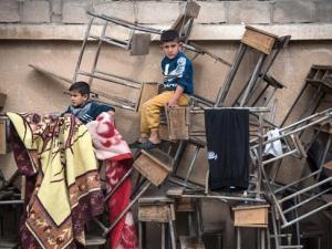 Pengungsi Suriah, Suriah, Perang