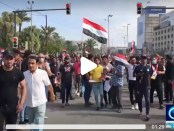 Demo Irak, Irak, Krisis Irak