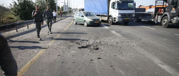 Roket Gaza Serang Israel