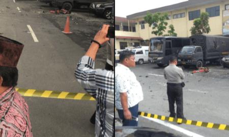 Bom Meledak di Polrestabes Medan