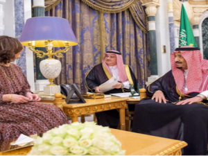 Kepala CIA, Raja Salman, Arab Saudi