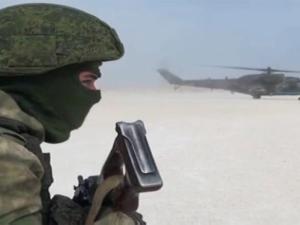 Bala Bantuan Militer Rusia Tiba di Pangkalan Udara Qamishli