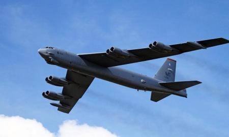 Bomber B-52, Suriah, Amerika Serikat