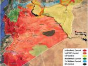 Peta Baru Perang Suriah