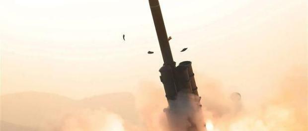 Senjata Nuklir, Korut, Perang