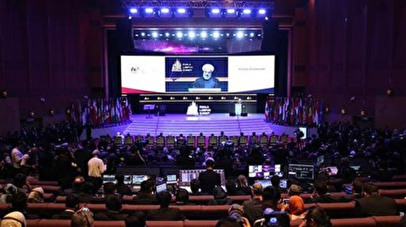 Di KL Summit, Rouhani Ajak Dunia Muslim Lawan Terorisme Ekonomi AS