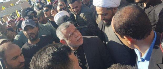 Serang Markas Hashd al-Shaabi, Ribuan Warga Irak Protes Depan Kedubes AS di Baghdad