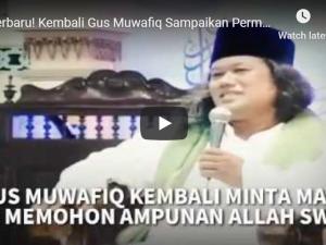 Di Solo, Gus Muwafiq Kembali Minta Maaf