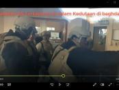 VIDEO: Pasukan AS Terkepung di dalam Kedutaan Amerika di Baghdad