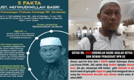 Ketua DSKS Solo Kakak dari Algojo ISIS Asal Indonesia dan Jebolan LIPIA