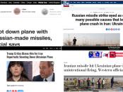 Bagaimana Media Ciptakan Narasi Kecelakaan Boeing 737 Ukraina untuk Salahkan Iran dan Rusia