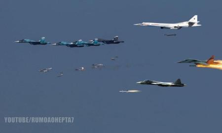 Jet Tempur Rusia Lancarkan Serangan Kuat di Aleppo Barat