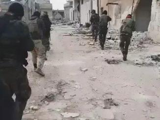VIDEO Pembebasan Kota Strategis Ma'arat Al-Nu'man dari Tangan Teroris