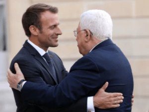 Dikunjungi Macron, Mahmoud Abbas Minta Eropa Akui Negara Palestina dengan Ibukota Yerusalem