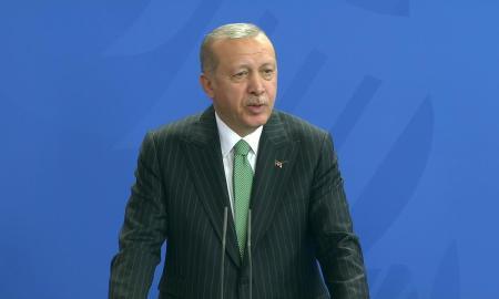 Erdogan Bersumpah Akan Hentikan Kemajuan Tentara Suriah di Idlib