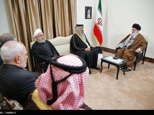pertemuan Emir Qatar dan Pemimpin Tertinggi Iran