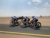 Tim Sepeda Israel Gembira Disambut Hangat di UEA
