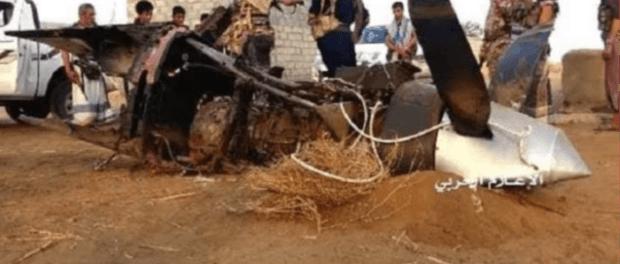 Pasukan Yaman Kembali Tembak Jatuh Drone Pengintai Saudi di Hodeidah
