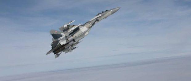 Jet Tempur Su-35 Rusia Cegat F-16 Turki di Perbatasan Suriah