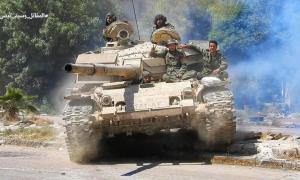 VIDEO Tentara Suriah Dekati Pangkalan Udara Taftanaz di Idlib