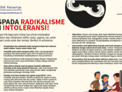 Muhammad Zazuli: Radikalisme dan Intoleransi, Rapot Merah Jokowi